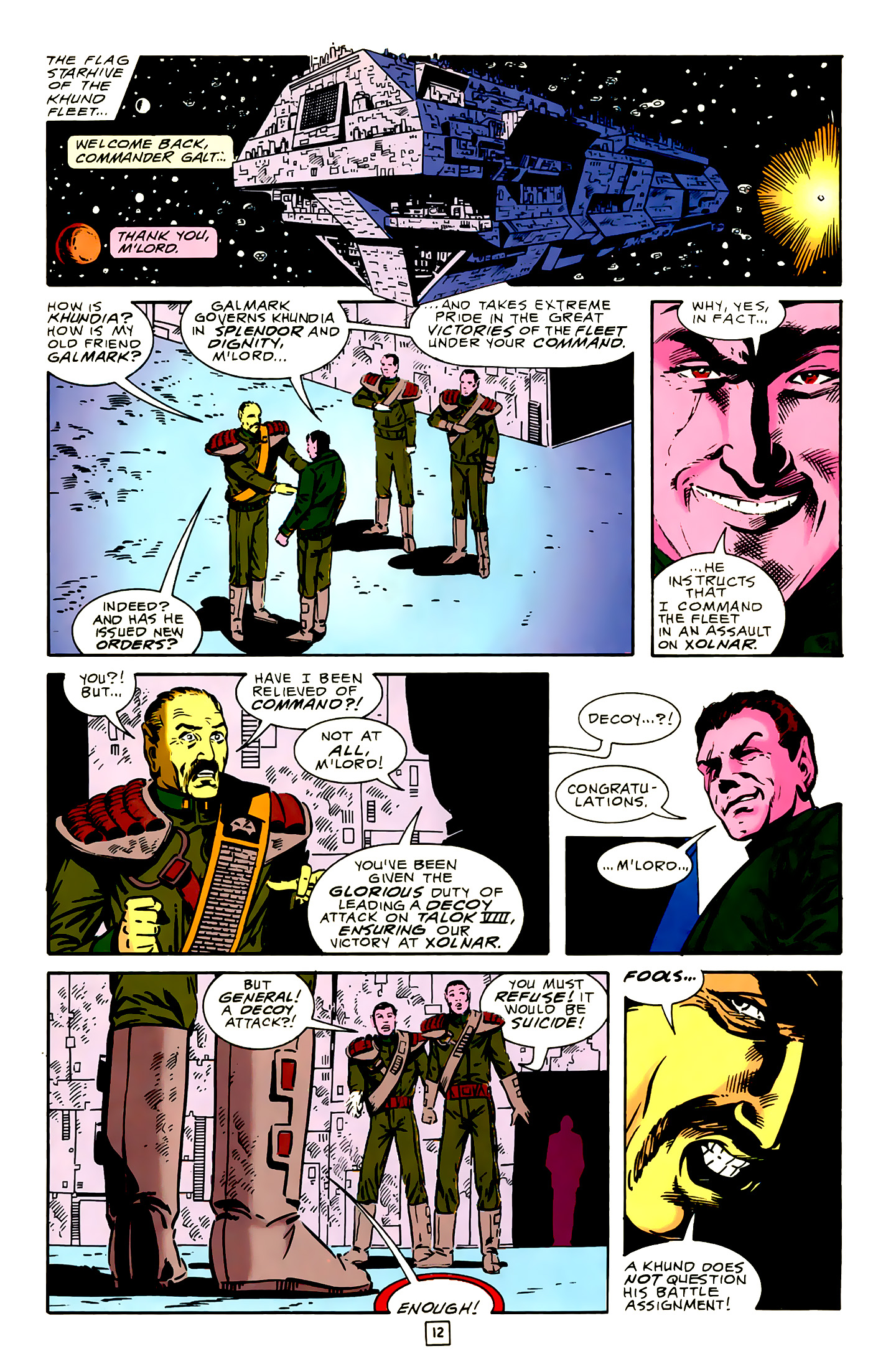 Legion of Super-Heroes (1989) 16 Page 12