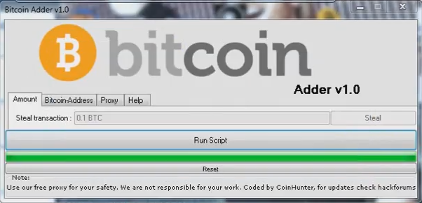 """Free Bitcoin Generate Software 2017 """"Bitcoin Adder v1.0"""" 0.5 BTC in 1 Hour   Free ..."""