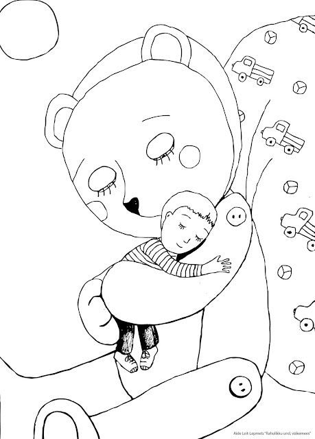 #teddybear #littleboy #illustration #art #drawing #coloring sheet