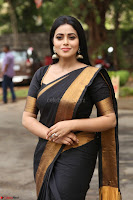 Poorna in Cute Backless Choli Saree Stunning Beauty at Avantika Movie platinum Disc Function ~  Exclusive 088.JPG