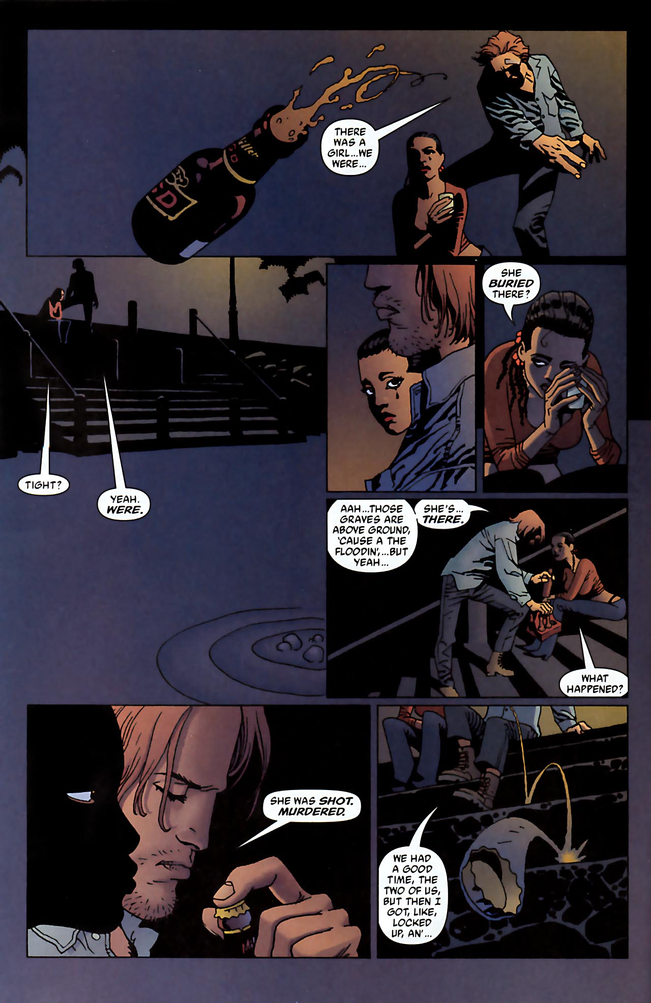Read online 100 Bullets comic -  Issue #52 - 8