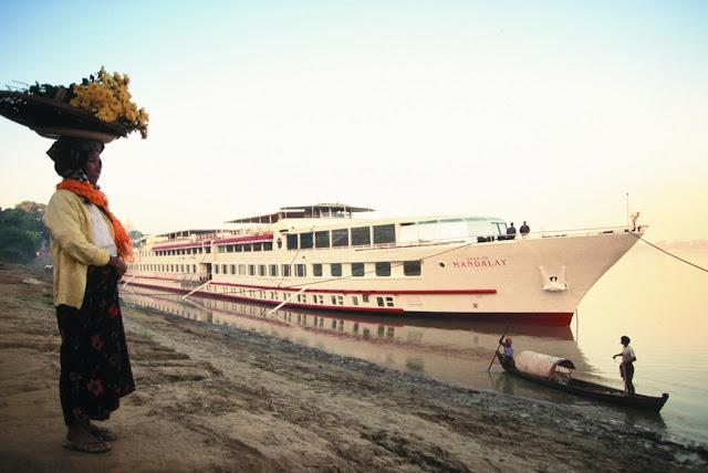 Юбилейный речной круиз Belmond Road to Mandalay к 20-летию с момента запуска в Мьянме