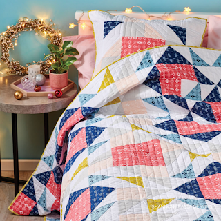 Double Windmill Quilt | Shannon Fraser Designs