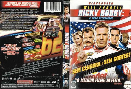 Ricky Bobby – A Toda Velocidade Torrent - BluRay Rip 720p e 1080p Dual Áudio 5.1 (2006)