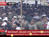 Inilah Video Ramainya Prosesi pemakaman KH. Hasyim Muzadi