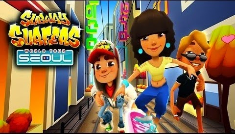 Download Subway Surfers Seoul Mod ( Unlimited Coins ) Full Apk