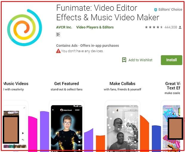 Aplikasi Funimate