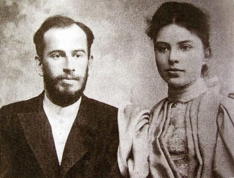 tolstoi y su esposa sofía_escritores_biografías
