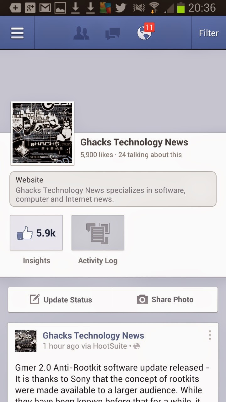 Download Aplikasi Facebook for Android via Google Play Store