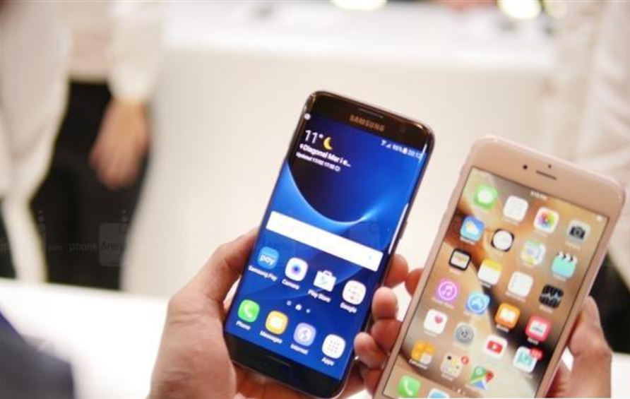 recover-samsung-data: Samsung Galaxy S7 edge vs iPhone 6