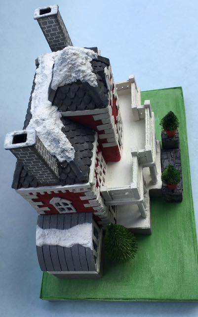 Bird's eye view of the Wilkins putz house