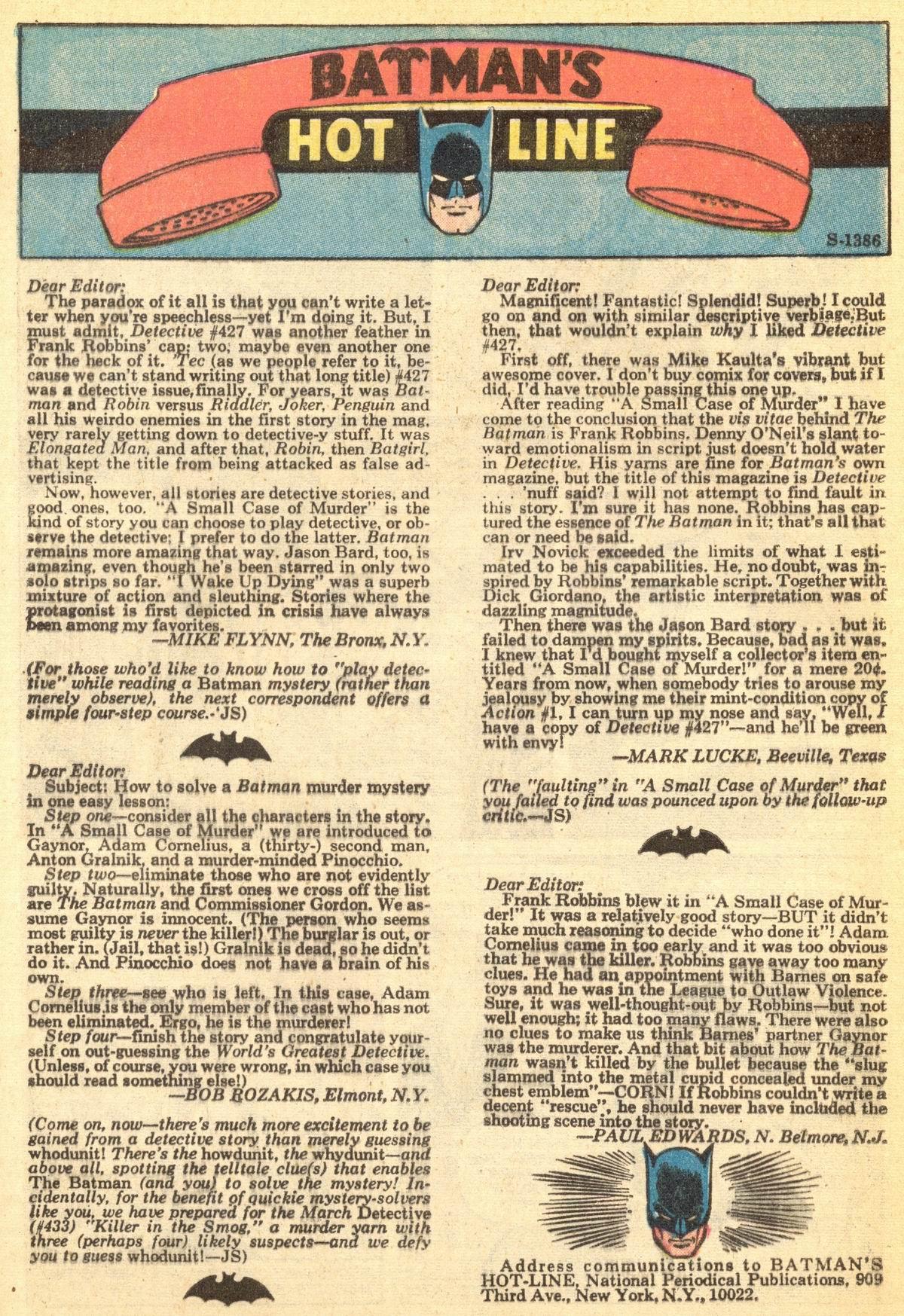 Detective Comics (1937) 431 Page 31
