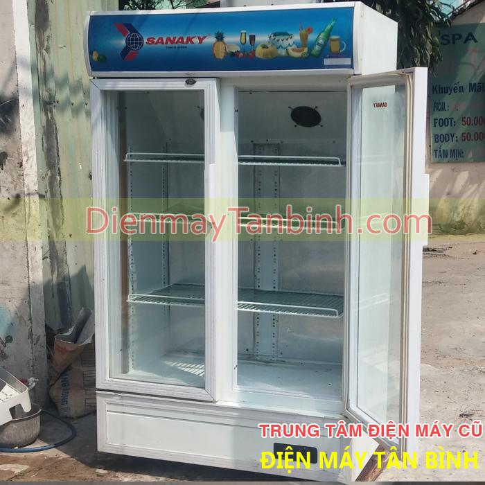 Bán thanh lý tủ mát cũ Sanaky VH-1000HP