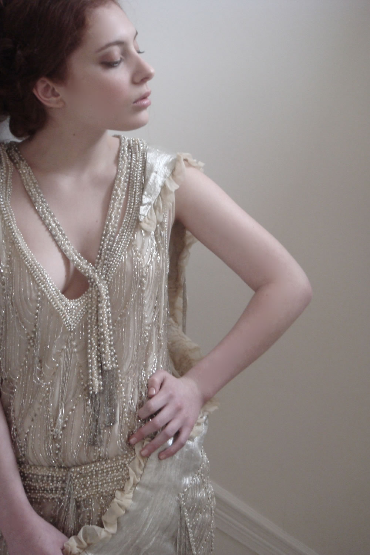 The Vintage Affairs Vintage Wedding Dresses 1920s