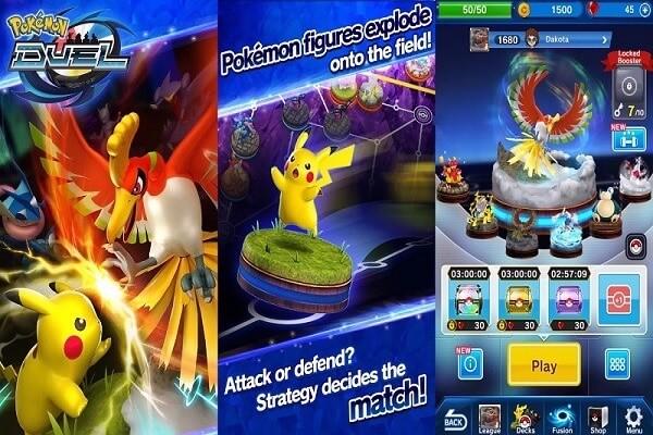 jogo Pokémon Duel 3.0.0