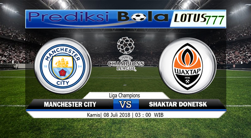 Prediksi Manchester City vs Shakhtar Donetsk 8 November 2018