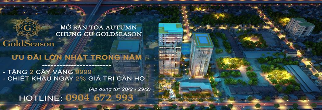 Dự án GoldSeason 47 Nguyễn Tuân - TNR Holdings Việt Nam