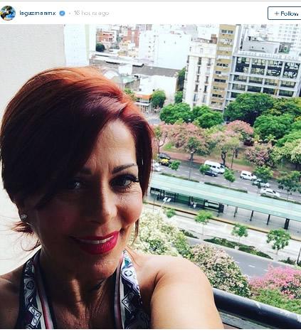 Alejandra Guzmán por selfie