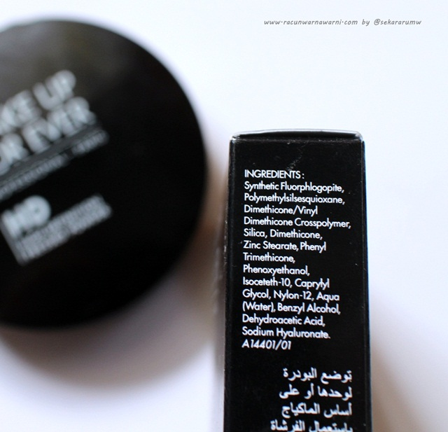 MUFE Pressed Powder Ingredients