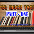 PSC MOCK TEST - PART 1 (LDC ONLINE TEST)