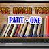 PSC MOCK TEST - PART 1 (LDC ONLINE TEST)