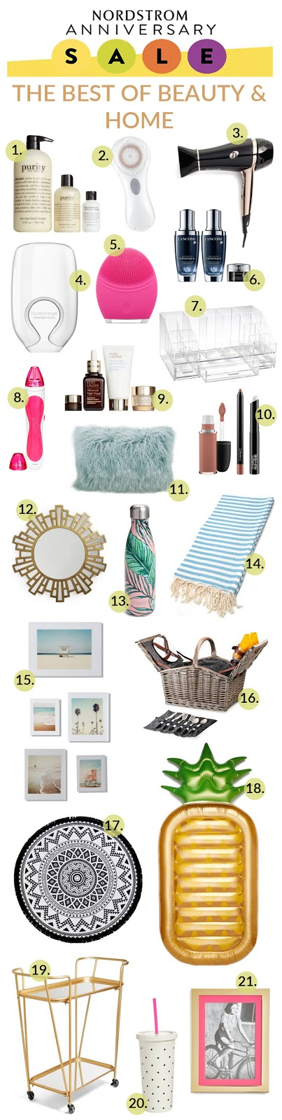 The Best of Nordstrom Home & Beauty Sale Picks by popular blogger Laura of Walking in Memphis in High Heels