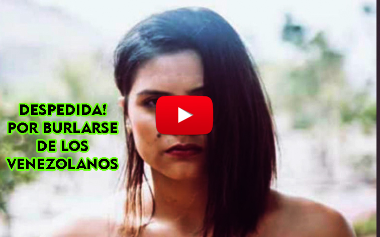 OFICIAL: Botaron a la comediante peruana que se burlaba de los venezolanos