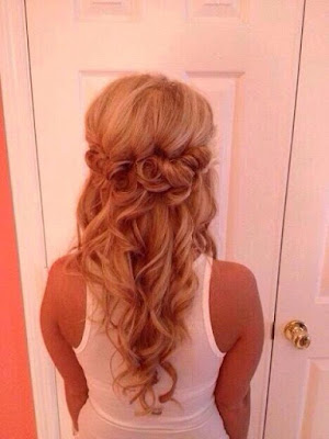 prom hair styles short