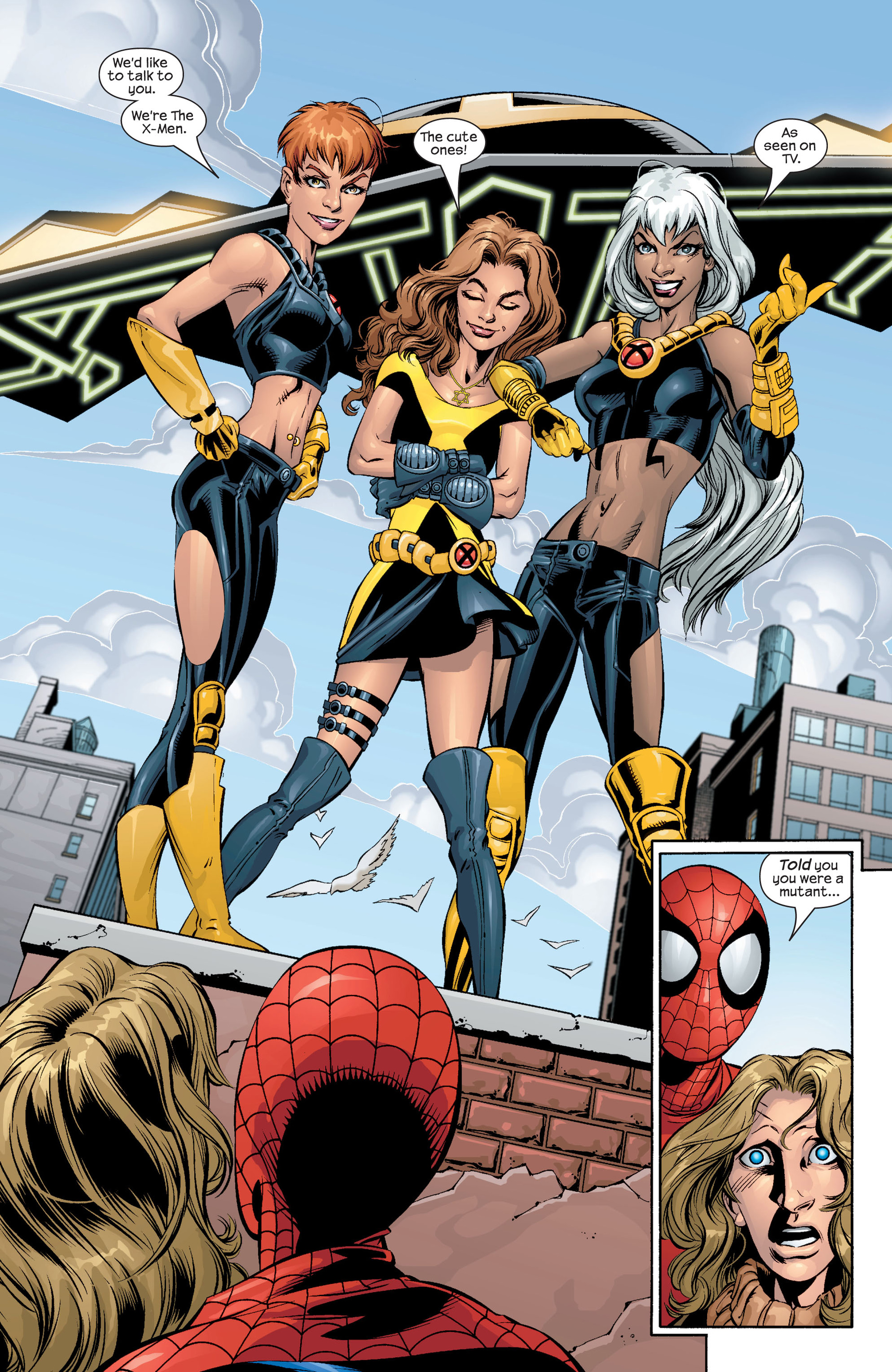 Read online Ultimate Spider-Man (2000) comic -  Issue #42 - 21
