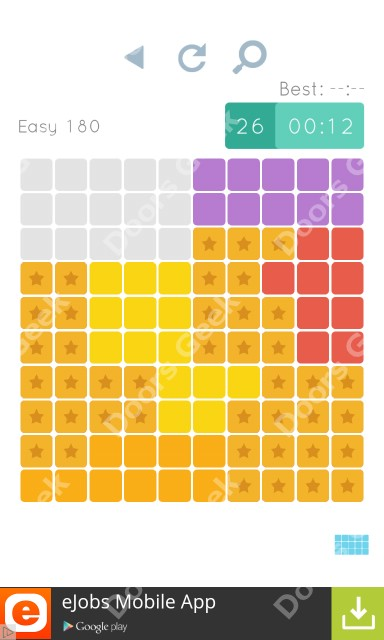 Cheats, Walkthrough for Blocks and Shapes Level 180