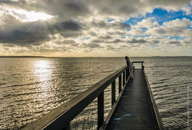 Lake Albert Jetty. Meningie, South Australia