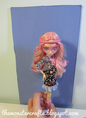 Monster High Viperine doll photography