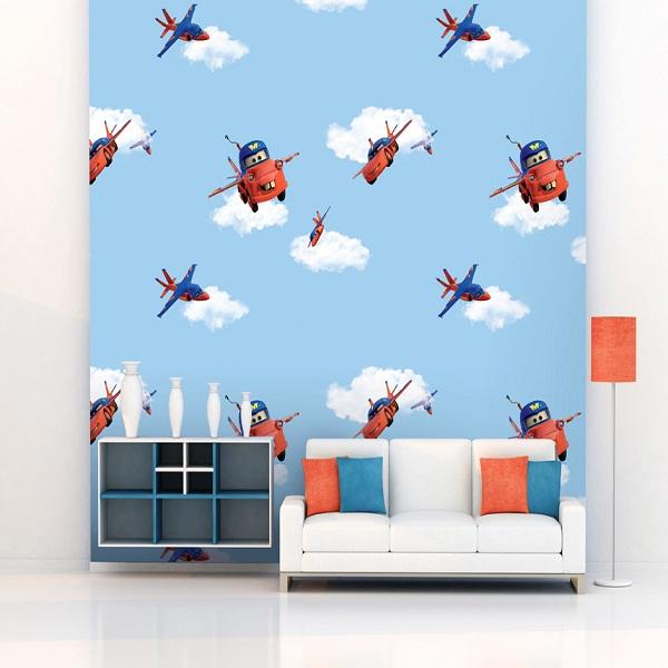 Trang trí giấy dán tường cho phòng ngủ trẻ em