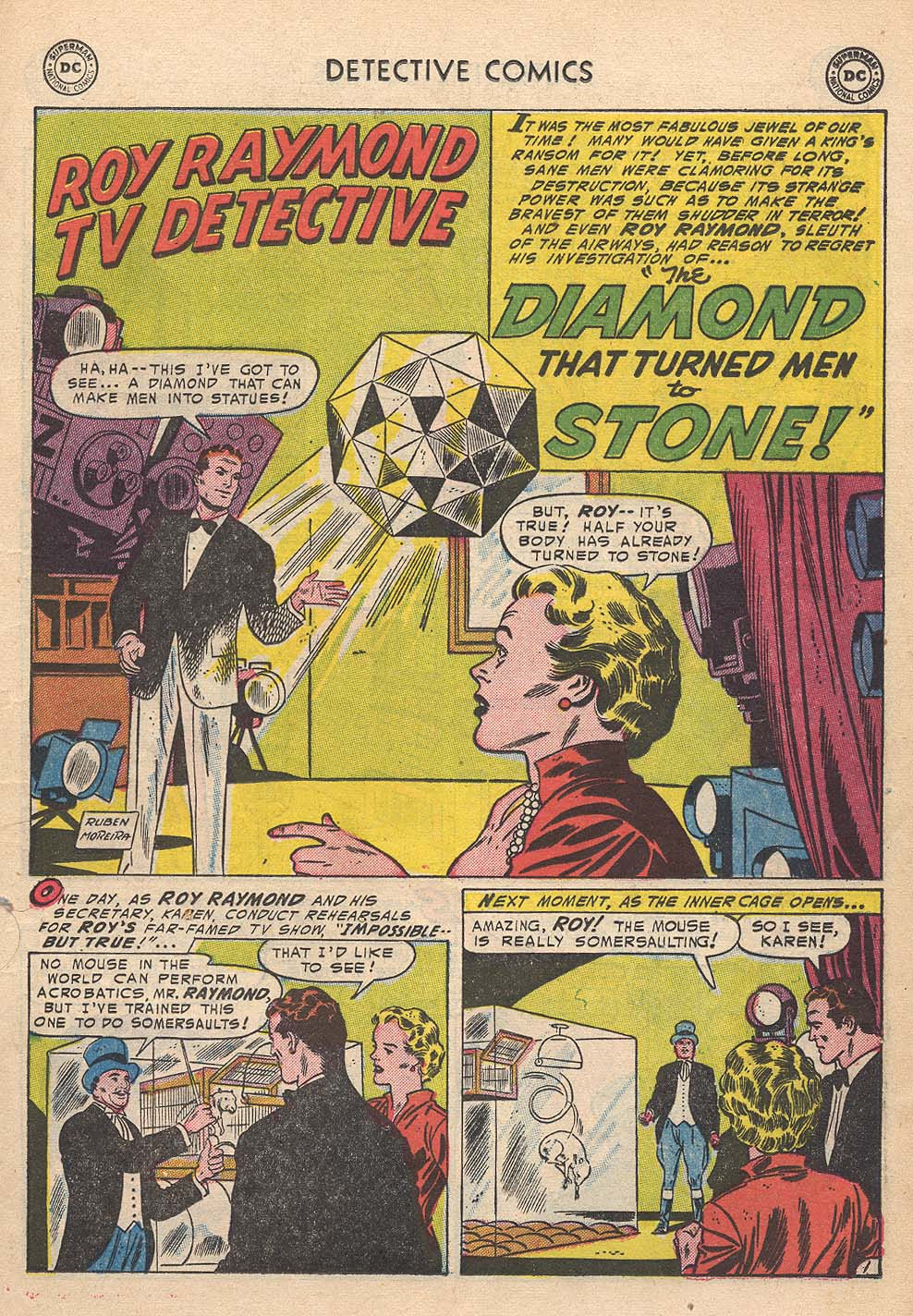 Read online Detective Comics (1937) comic -  Issue #210 - 17