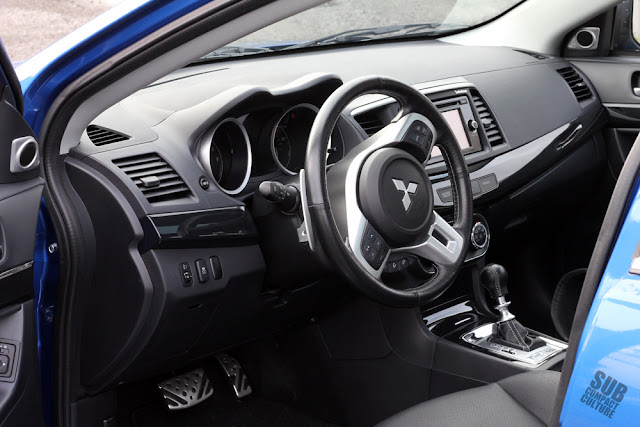 2015 Mitsubishi Lancer Evolution MR - interior
