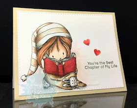 Tiddly Inks, Kecia Waters, Copic markers, book, Valentine