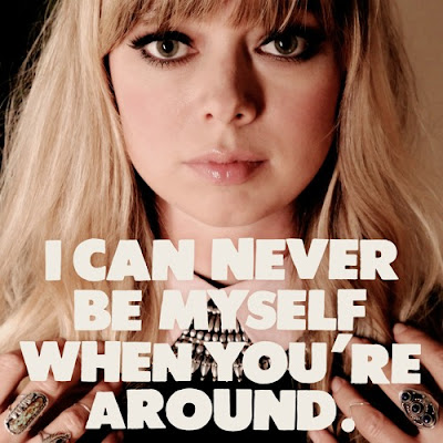 "CHROMATICS ""I CAN NEVER BE MYSELF WHEN YOU'RE AROUND"""