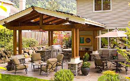 Sandstone Pavers- The Best Way Of Adding Beauty To Your ... on Covered Outdoor Living Area id=17882