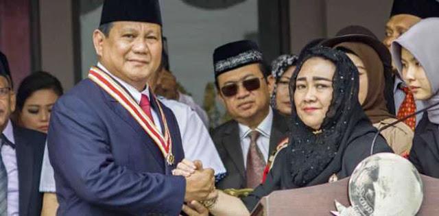 Hari Ini, Putri Bung Karno Bekali Ribuan Relawan Prabowo-Sandi Di Serang