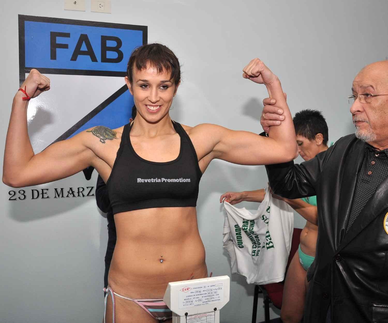 Gaby Potencia Nude boxeo hoy : box today: alegre y namus cumplen pesaje para