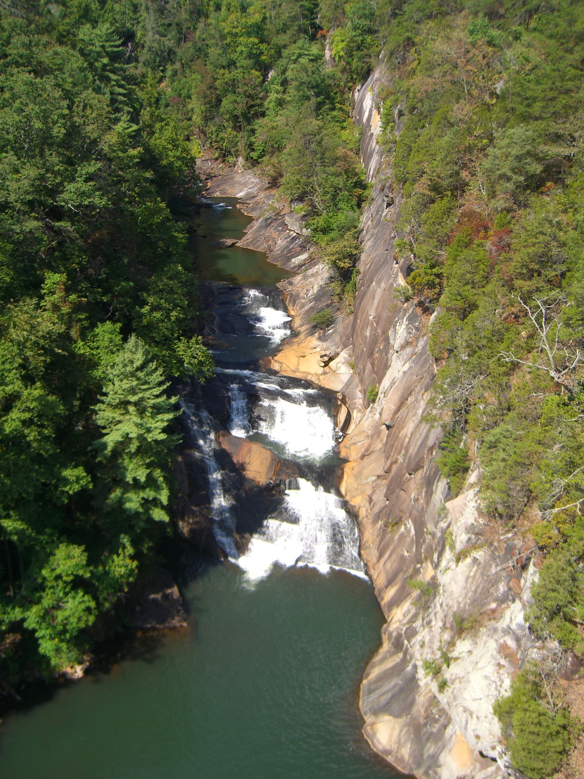 maps keys and clocks tallulah gorge visit. Black Bedroom Furniture Sets. Home Design Ideas