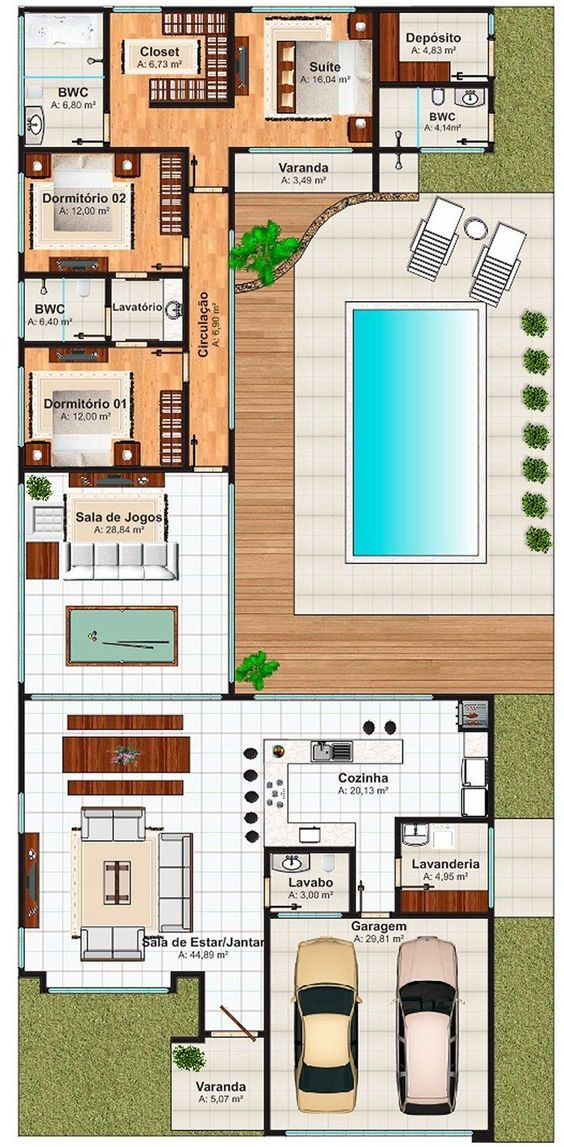Spain holidays villas floor plan with 3 bedrooms and 150 for 150 square meters house floor plan