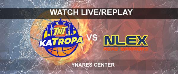 List of Replay Videos TNT vs NLEX September 13, 2017 @ Ynares Center