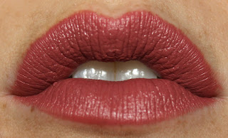 MAC Lip Pencil in Soar review lip swatch swatches lipstick brave