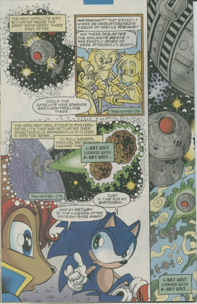 Read online Sonic The Hedgehog comic -  Issue #73 - 14