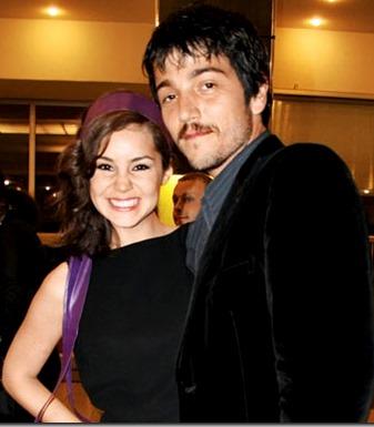 Foto de Camila Sodi con su ex pareja