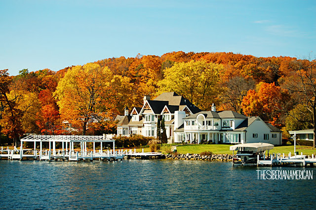 Fall Foliage Geneva Lake