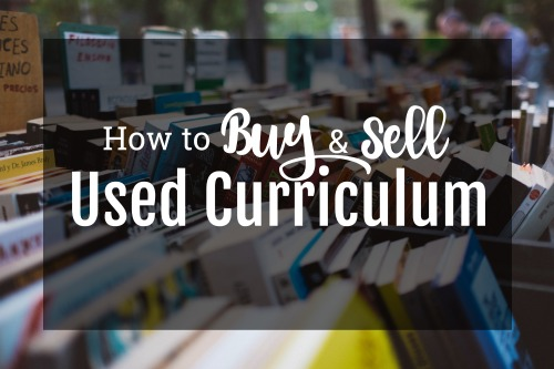 Great tips for buying and selling at a used curriculum sale.