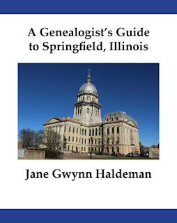 A Genealogist's Guide to Springfield, Illinois Released at The In-Depth Genealogist