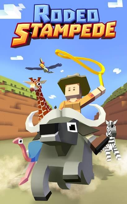 Rodeo Stampede: Sky Zoo Safari MOD Dinheiro Infinito 1.29.0